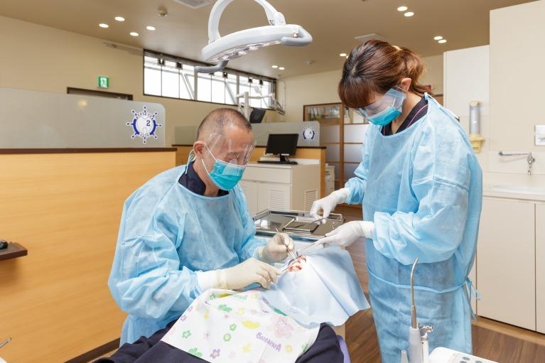 口腔内の外傷に対する治療