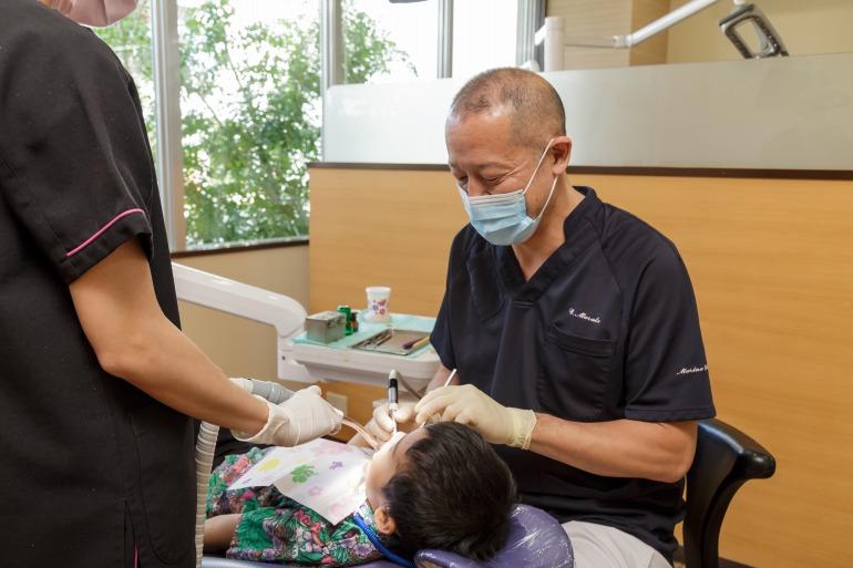 乳歯のむし歯も必ず治療しましょう