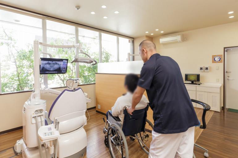 高齢者歯科・有病者歯科について