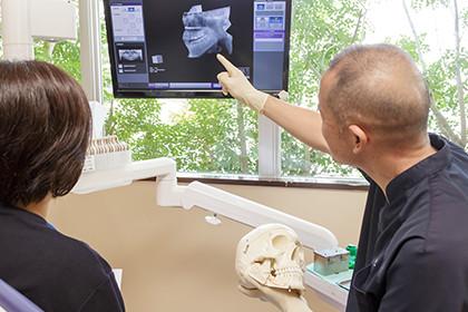 対話重視の歯科診療